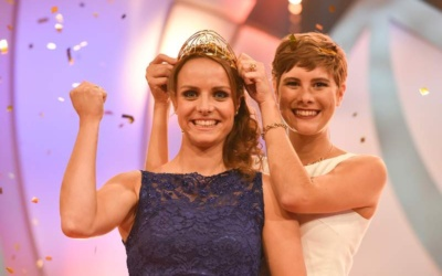 Germany´s 68th Wine Queen is Lena Endesfelder from the Mosel
