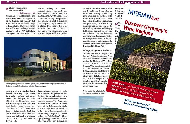 New edition of MERIAN travel guide Discover Germany´s Wine Regions