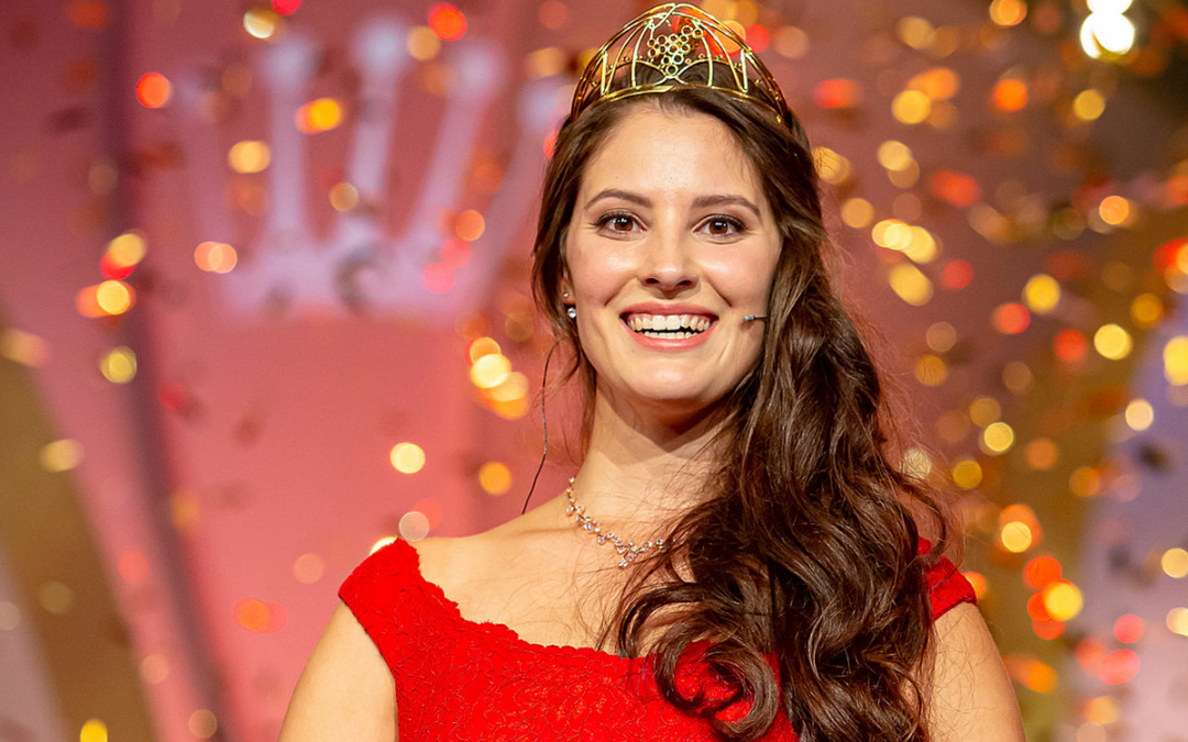Angelina Vogt is Germany's 71st Wine Queen